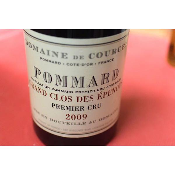 ドメーヌ・ド・クールセル / ポマール・プルミエ・クリュ・グラン・クロ・デ・ゼプノ [2009]【赤ワイン】|wineholic