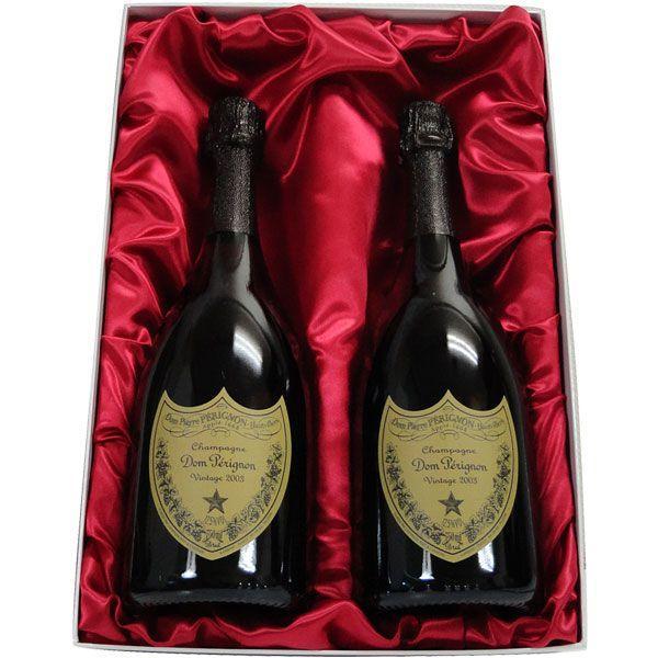 高級ギフト箱入り ドン・ペリニヨン (ドンペリ)2010 2本セット正規輸入品|winekatayama