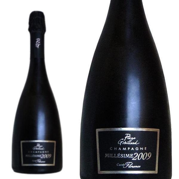 シャンパン  ピエール·ゴビヤール  キュヴェ·フローレンス  ブリュット  ミレジム  2009年  750ml  正規  (フランス  シャンパーニュ  白  箱なし)