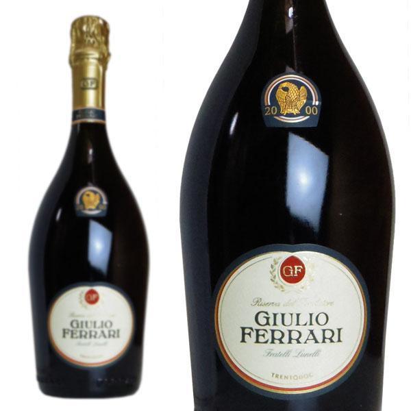 ジュリオ·フェッラーリ  リゼルヴァ·デル·フォンダトーレ  2000年  フェッラーリ社  750ml  正規  (イタリア  スパークリングワイン)