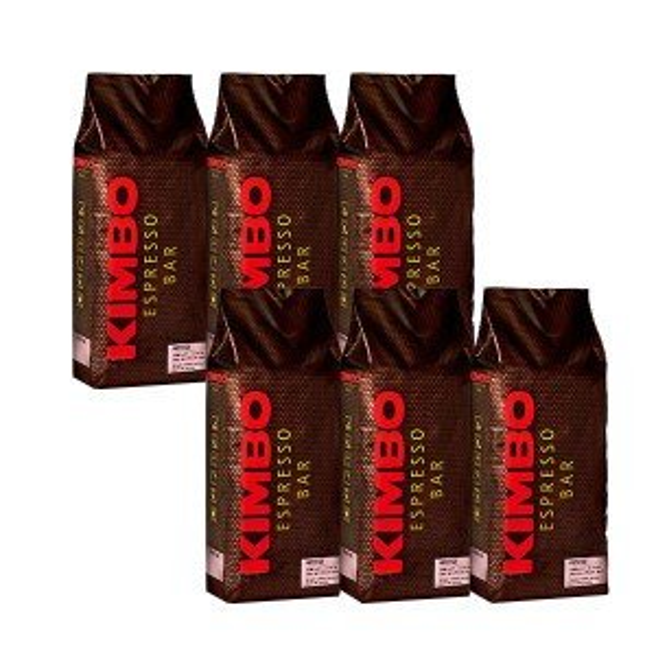 キンボ  エスプレッソ豆  プレステージ  1kg×6袋  (コーヒー豆)  ※他の商品と同梱不可  家飲み  巣ごもり  応援
