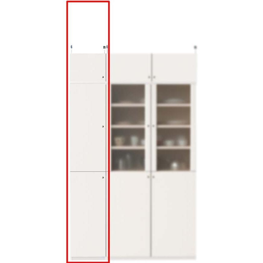 深型キッチンキャビネット キッチン収納 高さ208·217cm幅30·44cm奥行46cm厚棚板(棚板厚2.5cm)