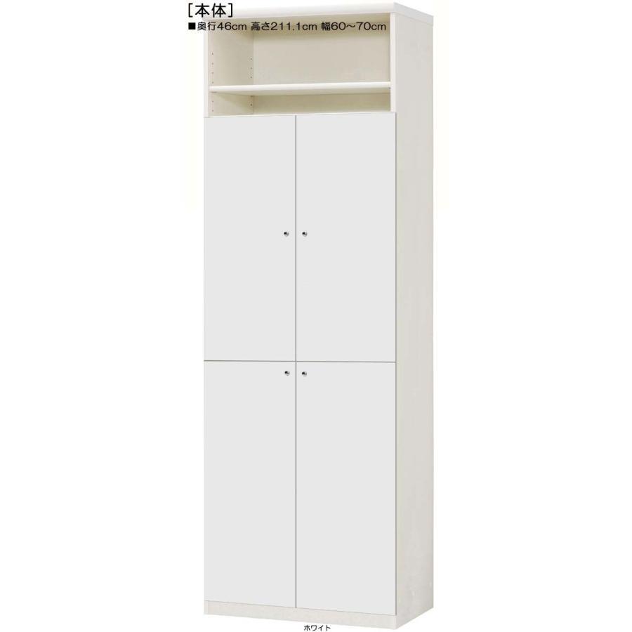 下部扉 下部扉 標準棚板 壁面収納 高さ211.1cm幅60〜70cm奥行46cm 下扉高さ170.2cm ブルーレイディスプレイ 日本製 キッチン 整理