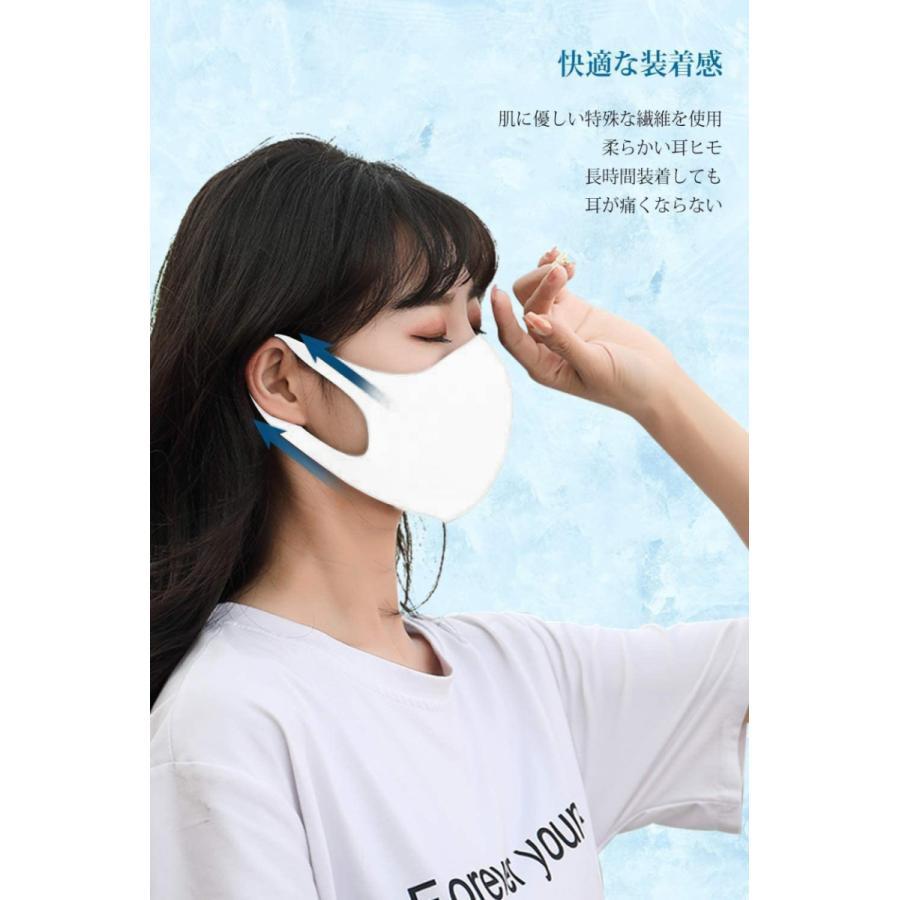 マスク 10枚入 超立体型 3層構造 飛沫99%カット ますく 使い捨てマスク 不織布マスク PM2.5 防水 男女兼用 花粉対策(mask3DLT)|wingchokuei|02