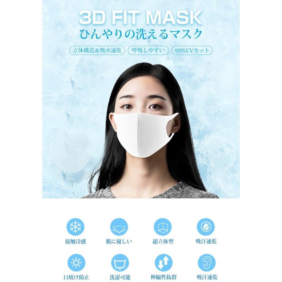 マスク 10枚入 超立体型 3層構造 飛沫99%カット ますく 使い捨てマスク 不織布マスク PM2.5 防水 男女兼用 花粉対策(mask3DLT)|wingchokuei|04