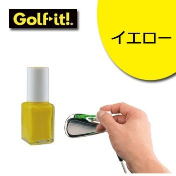 ライト アイアンマニキュア X-608 イエロー  LITE ゴルフ|winning-golf