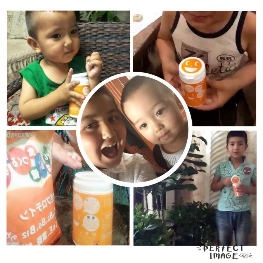 栄養機能食品 (ビタミンA・ビタミンB12・葉酸・ビタミンC・ビタミンD含有食品)かわいい肝油プラス お買得2個セット 子供ビタミン、ゼリー オレンジ風味|winnowstore|05