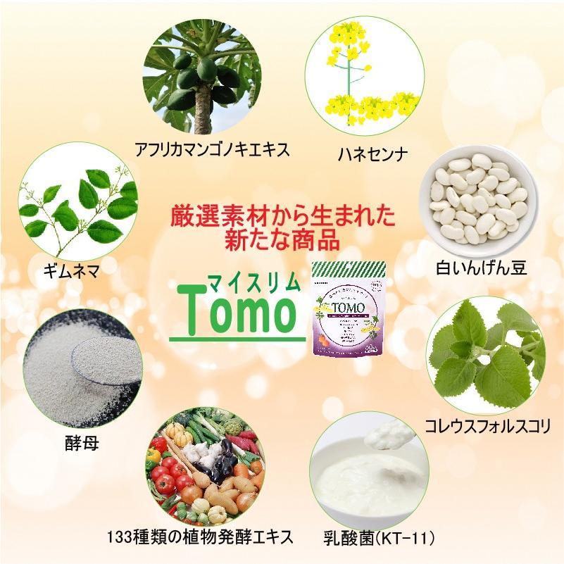 Winnow マイスリムTOMO ダイエットサプリ60粒/1ヶ月、アフリカマンゴノキエキス末、酵素、酵母、コレウスフォルスコリ、キャンドルブッシュ、乳酸菌 winnowstore 05
