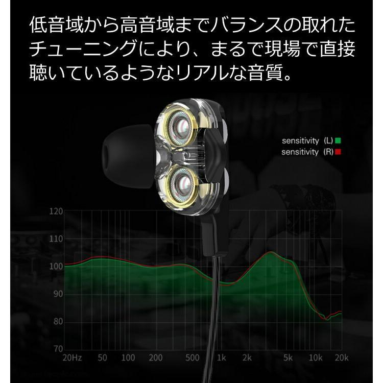 最新 2×2 デュアルスピーカー 有線イヤホンマイク  TYPE-C iPhone iPad XPERIA GALAXY AQUOS Huawei OPPO タブレット ガラケー 携帯電話 車 テレワーク SE|wireless|10