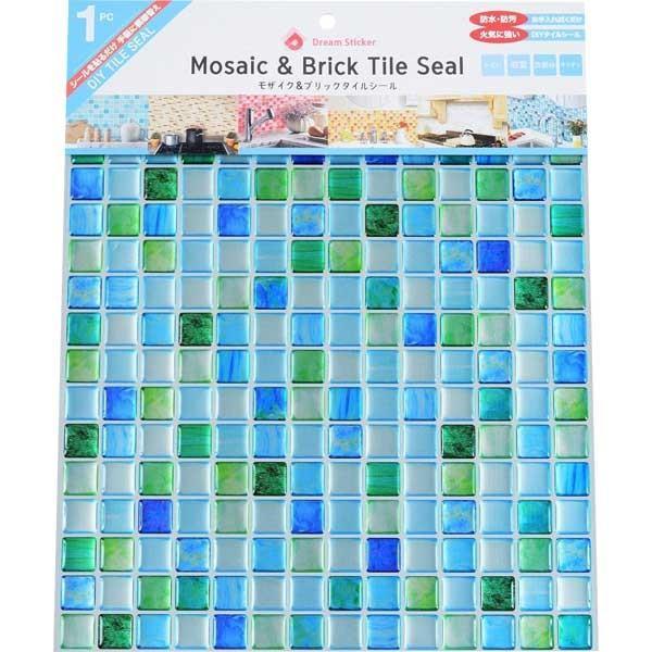 モザイクタイルシール BST-2 ×144個 ケース販売 サファイアブルー Sapphire blue Dream Sticker