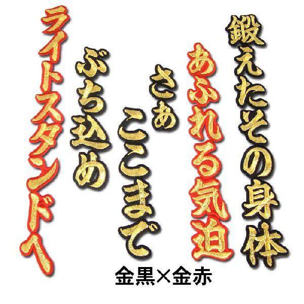 阪神タイガース金本知憲ヒッティングマーチ(応援歌)ワッペン