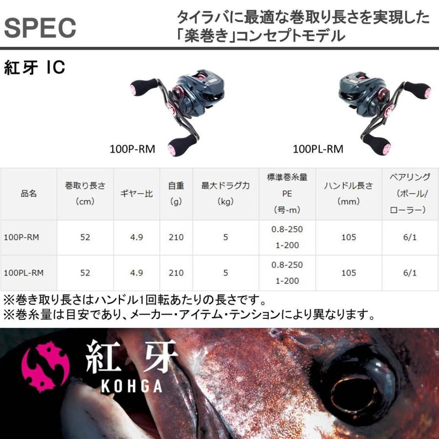 ダイワ(DAIWA) リール 紅牙 IC 100P-RM