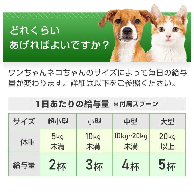 (老犬 老猫の健康維持)【7成分配合】【犬猫兼用サプリ/粉末ミルク味】「毎日一緒 DHA&EPA」(1袋60杯入り/付属スプーン付)|with-pety|07