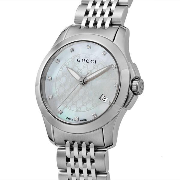【公式ショップ】 グッチ 腕時計 GUCCI Gタイムレス クオーツ レディース クオーツ 腕時計 レディース YA126535 ホワイトパール, SECRET BASE:d77fc5e9 --- airmodconsu.dominiotemporario.com