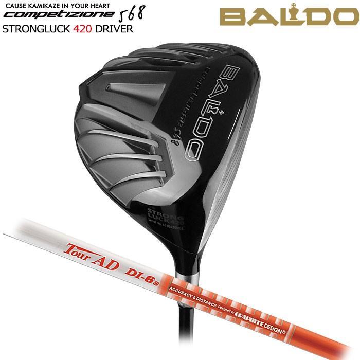 バルド BALDO NEW COMPETIZIONE 568 STRONGLUCK 420 ドライバー TOUR AD DI グラファイトデザイン