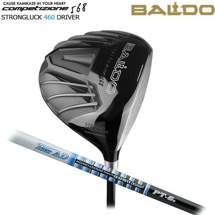 バルド BALDO NEW COMPETIZIONE 568 STRONGLUCK 460 ドライバー TOUR AD PT グラファイトデザイン
