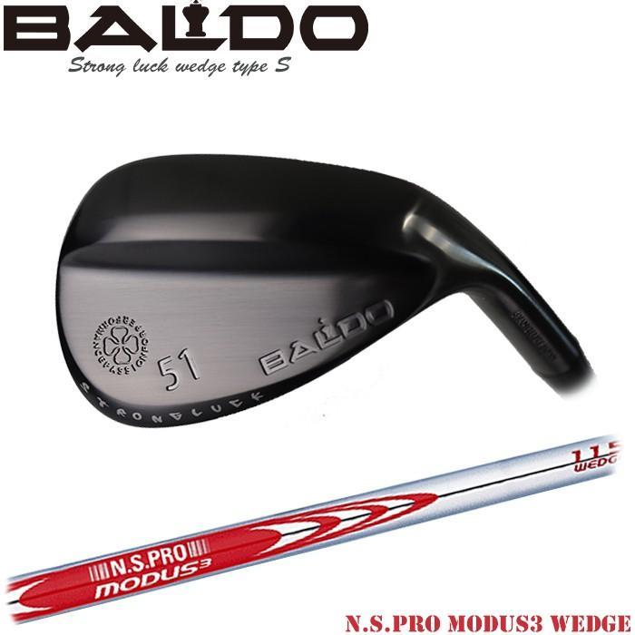 ゴルフ ウェッジ バルド BALDO STRONG LUCK WEDGE Type-S N.S.PRO MODUS3 WEDGE 105/115/12