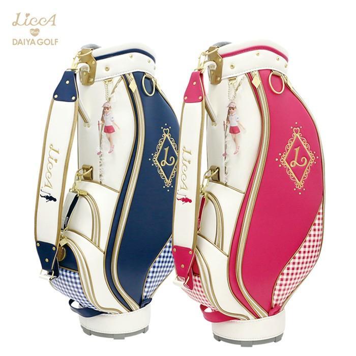 ダイヤゴルフ DAIYA CBL-5301 リカちゃんコラボ LiccA キャディバッグ01 8.5インチ