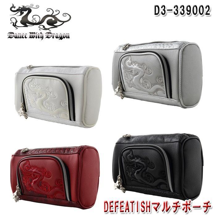 ダンスウィズドラゴン Dance With Dragon D3-339002 DEFEATISH マルチポーチ