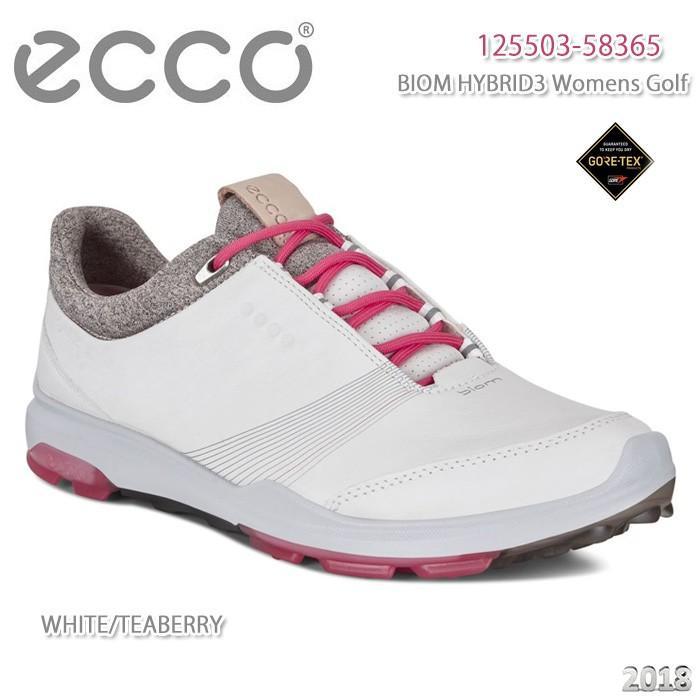 シューズ エコー ECCO 125503-58365 BIOM HYBRID 3 白い/TEABERRY