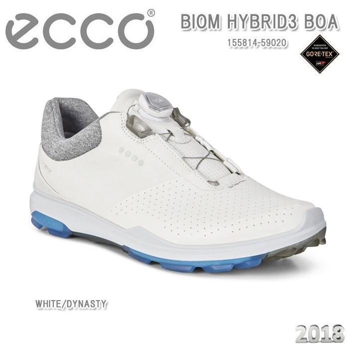 エコー ecco 155814-59020 BIOM HYBRID 3 BOA WHITE/DYNASTY スパイクレス