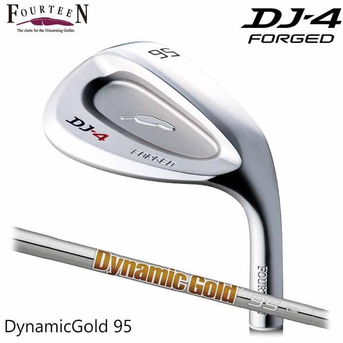 (メーカーカスタム)FOURTEEN フォーティーン DJ-4 ウェッジ Dynamic ゴールド 95