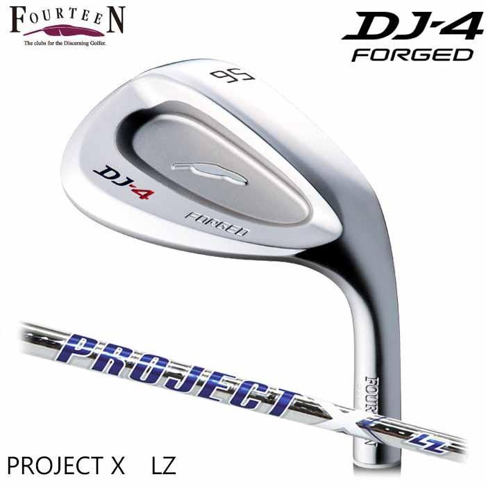 (メーカーカスタム)FOURTEEN フォーティーン DJ-4 ウェッジ PROJECT X LZ