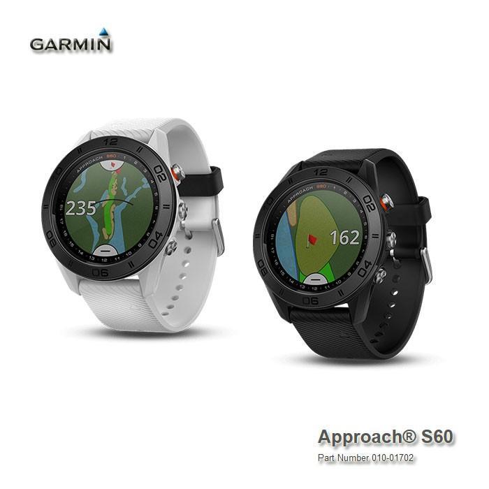 GPSナビ ガーミン GARMIN Approach S60 腕時計型GPSゴルフナビ(010-01702)