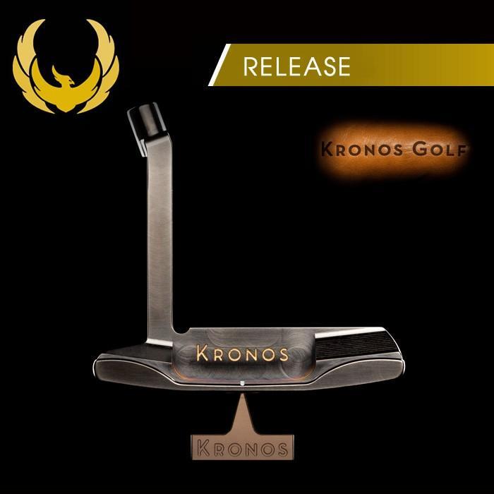 パター クロノスゴルフ KRONOS RELEASE RELEASE RELEASE リリース パター ロングネック 653