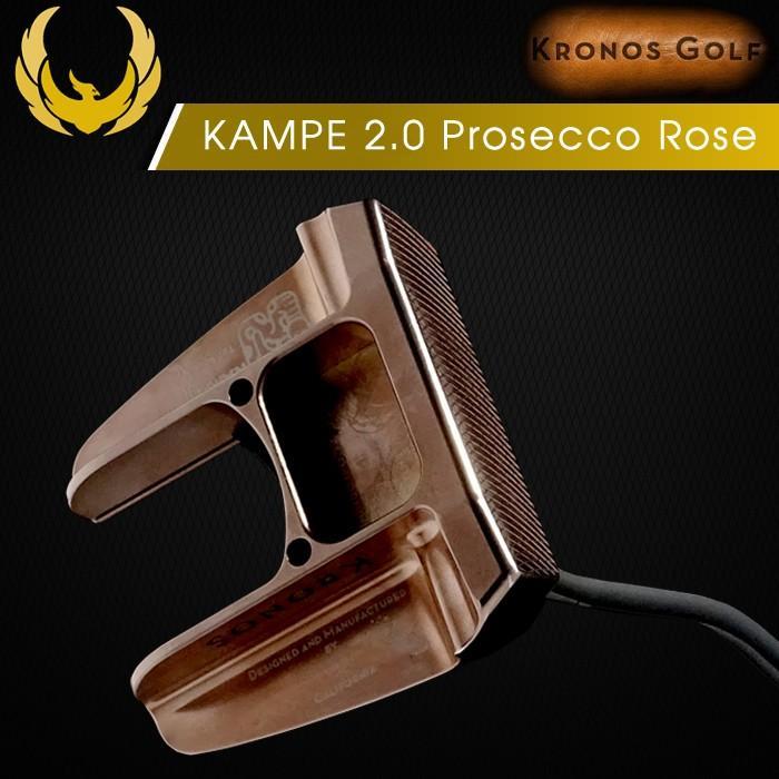 クロノスゴルフ KRONOS KAMPE 2.0 PROSECCO ROSE キャンピー パター 34インチ