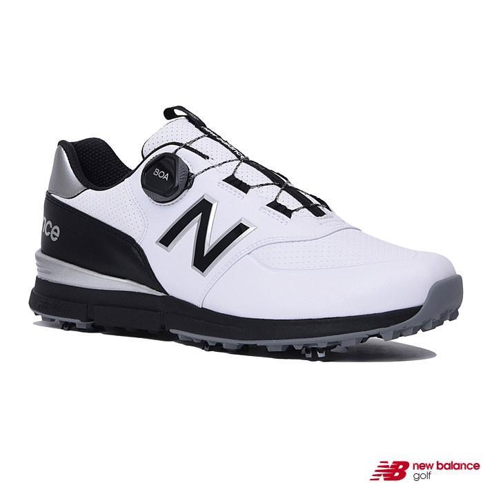 ニューバランス new balance MGB574 W2 Boa メンズ ゴルフシューズ ホワイト/ブラック