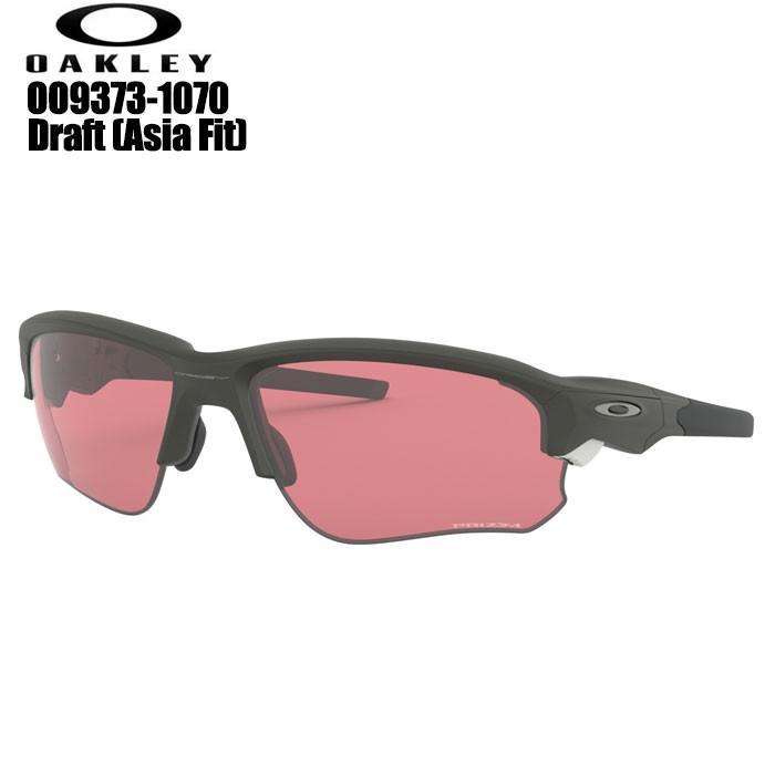 オークリー OAKLEY OO9373-1070 FLAK DRAFT (A) ゴルフサングラス Matte Carbon/Prizm Dark Go