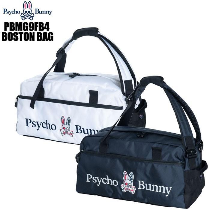 サイコバニー Psycho Bunny PBMG9FB4 WIT 2WAY ボストンバッグ