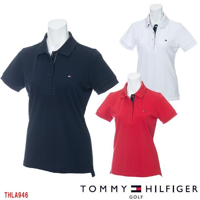トミーヒルフィガー 2019 TOMMY HILFIGER THLA946 POLO SHIRT レディースゴルフウェア ポロシャツ
