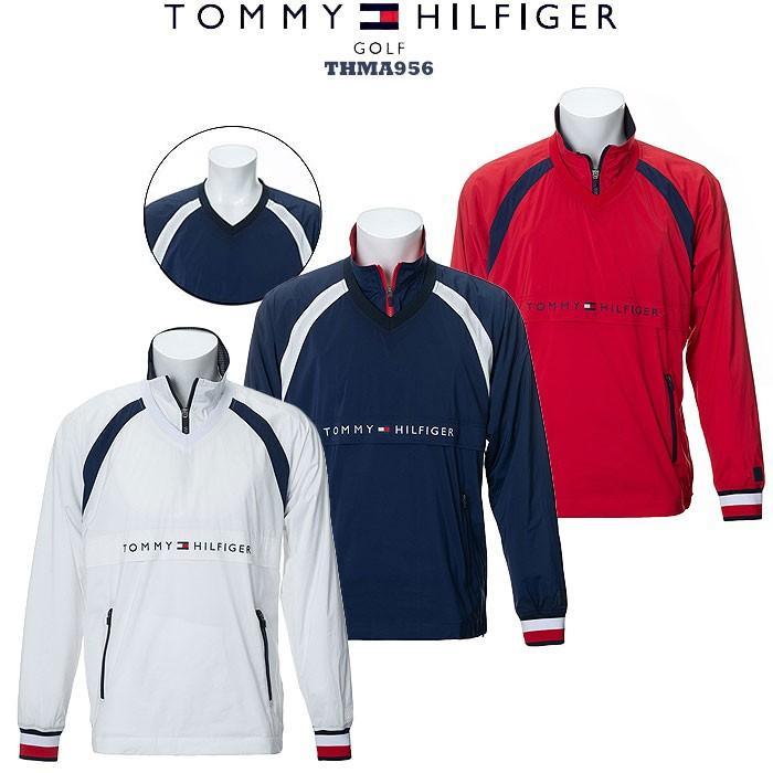 トミーヒルフィガー 2019FW TOMMY HILFIGER THMA956 PULL OVER WIND JACKET ウィンド ジャケット