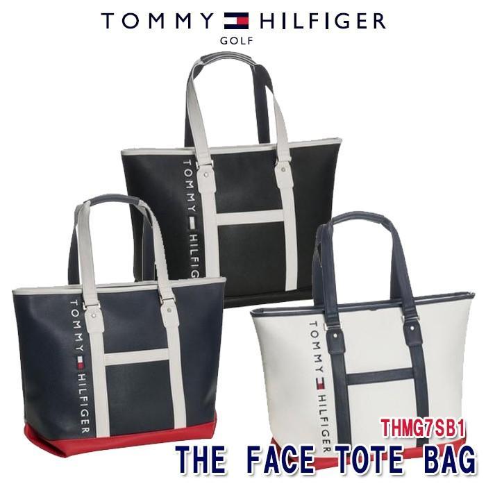 トミーヒルフィガー 正規認証品 新規格 贈物 TOMMY HILFIGER THMG7SB1 THE FACE トートバッグ