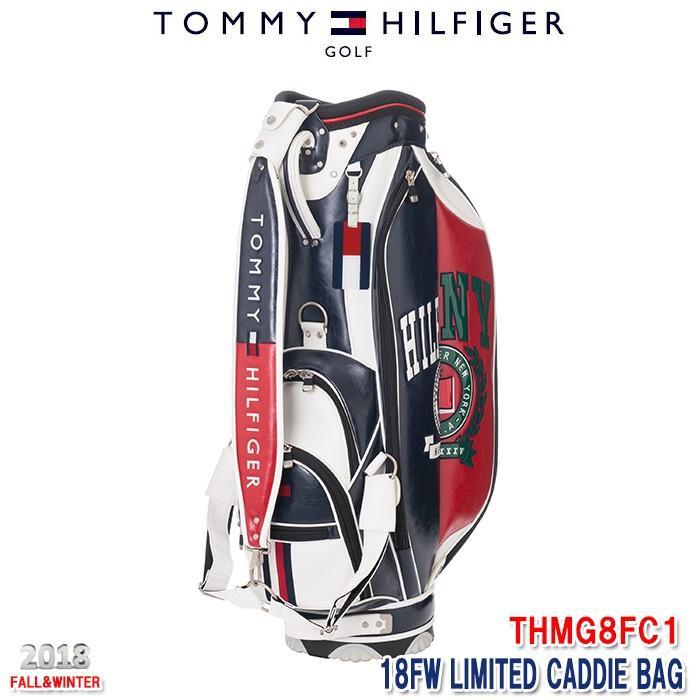開店祝い トミーヒルフィガー TOMMY HILFIGER THMG8FC1 LIMITED キャディバッグ トリコロール(90) 9インチ, 蒲郡市 0d23af05