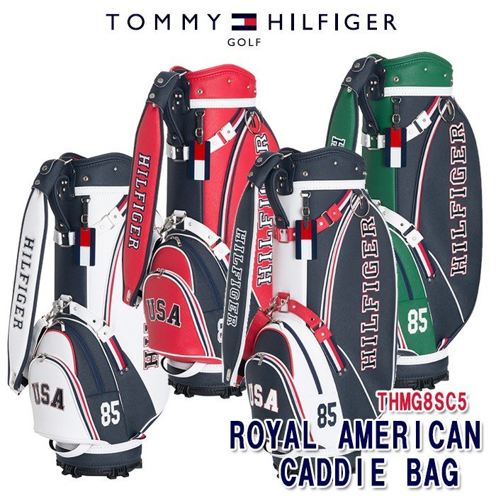 最も信頼できる トミーヒルフィガー TOMMY HILFIGER THMG8SC5 ROYAL AMERICAN キャディバッグ, シオヤグン 8d643351