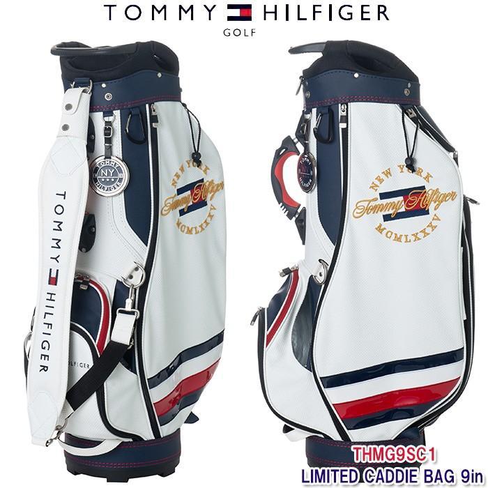 ずっと気になってた トミーヒルフィガー 2019 TOMMY HILFIGER THMG9SC1 ホワイト 19SS キャディバッグ 19SS LIMITED キャディバッグ 9インチ ホワイト, エルアミーゴ:edbbbe01 --- airmodconsu.dominiotemporario.com