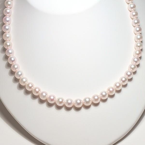 パールネックレス 冠婚葬祭  アコヤ真珠7.5-8mmネックレスと痛くない微調整可7.5mmイヤリングの2点セット 成人式 入学式 入園式 結婚式|wizem|04