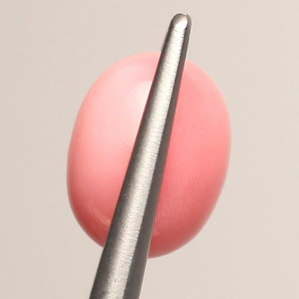 コンクパールルース2.789ct 約8.1mm×7.0mm×6.3mm 火炎模様 中央宝石研究所の鑑別書付|wizem|03