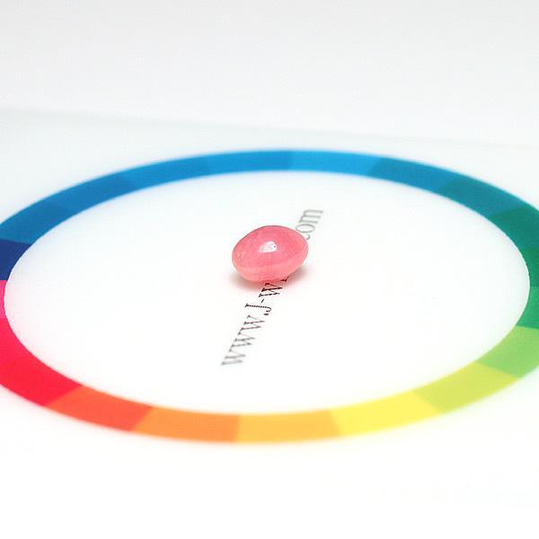 コンクパールルース0.88ct 6.0×4.9mm×4.2mm火炎模様ピンク色 希少な天然真珠|wizem|05
