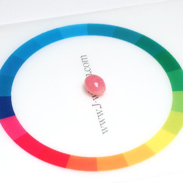 コンクパールルース0.88ct 6.0×4.9mm×4.2mm火炎模様ピンク色 希少な天然真珠|wizem|07