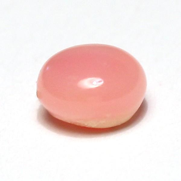 コンクパールルース0.50ct 火炎模様4.8mm×4.4mmカボションのような形 希少な天然真珠 wizem 03