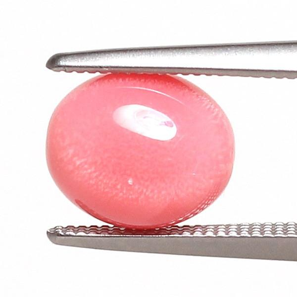 コンクパールルース2.551ct約8.2mm×6.9mm×5.7mm火炎模様美しいピンク色 中央宝石研究所の鑑別書付属 希少な天然真珠 wizem 02