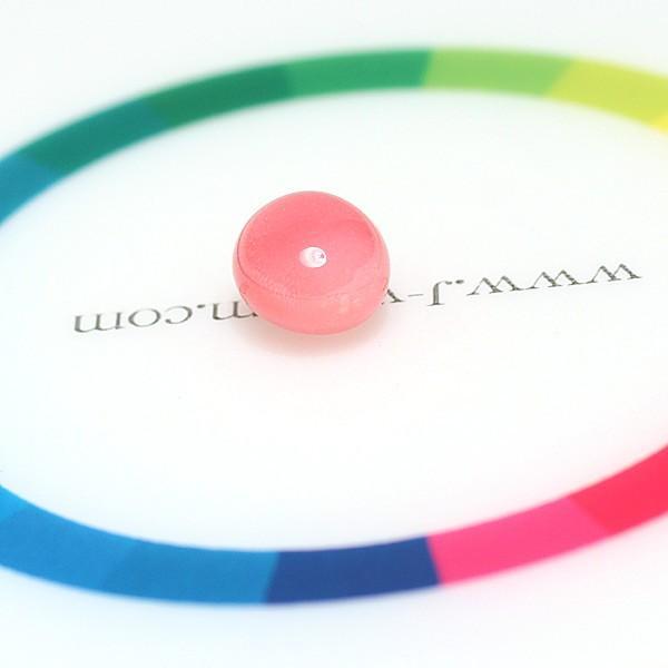 コンクパールルース2.551ct約8.2mm×6.9mm×5.7mm火炎模様美しいピンク色 中央宝石研究所の鑑別書付属 希少な天然真珠 wizem 07