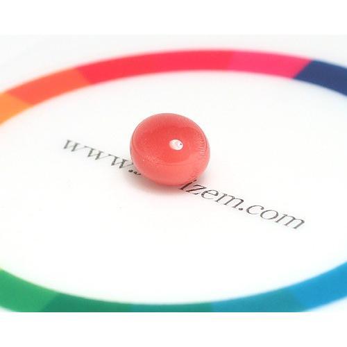 コンクパールルース2.197ct約7.7mm×6.5mm×5.7mmオレンジ色を帯びたピンク色火炎模様 ソーティング/鑑別機関が発行する簡易鑑別付 天然真珠|wizem|05