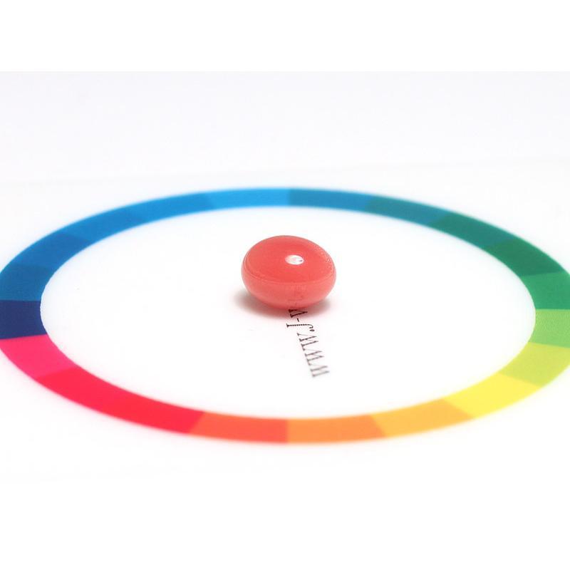 コンクパールルース2.197ct約7.7mm×6.5mm×5.7mmオレンジ色を帯びたピンク色火炎模様 ソーティング/鑑別機関が発行する簡易鑑別付 天然真珠|wizem|07