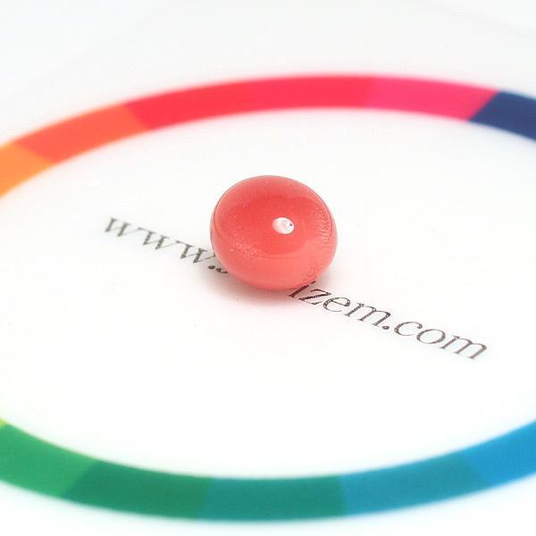 コンクパールルース2.197ct約7.7mm×6.5mm×5.7mmオレンジ色を帯びたピンク色火炎模様 ソーティング/鑑別機関が発行する簡易鑑別付 天然真珠|wizem|10