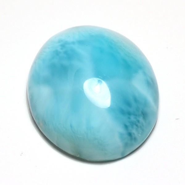 ラリマー37.61ctカリブ海の癒しの宝石26mm×21mm wizem 02